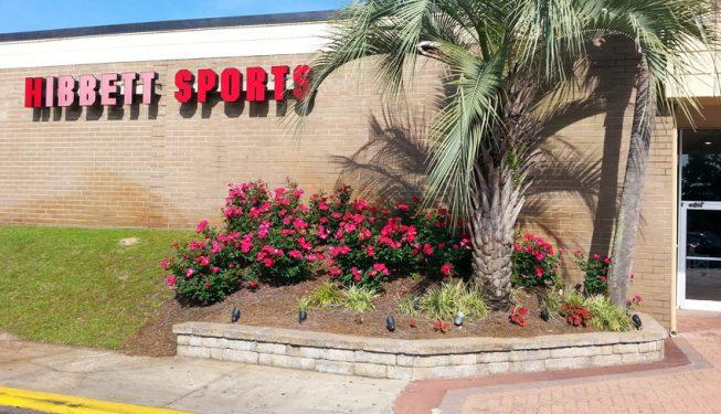 front store landscape